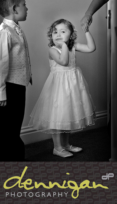 Flower Girl at Sneem Hotel