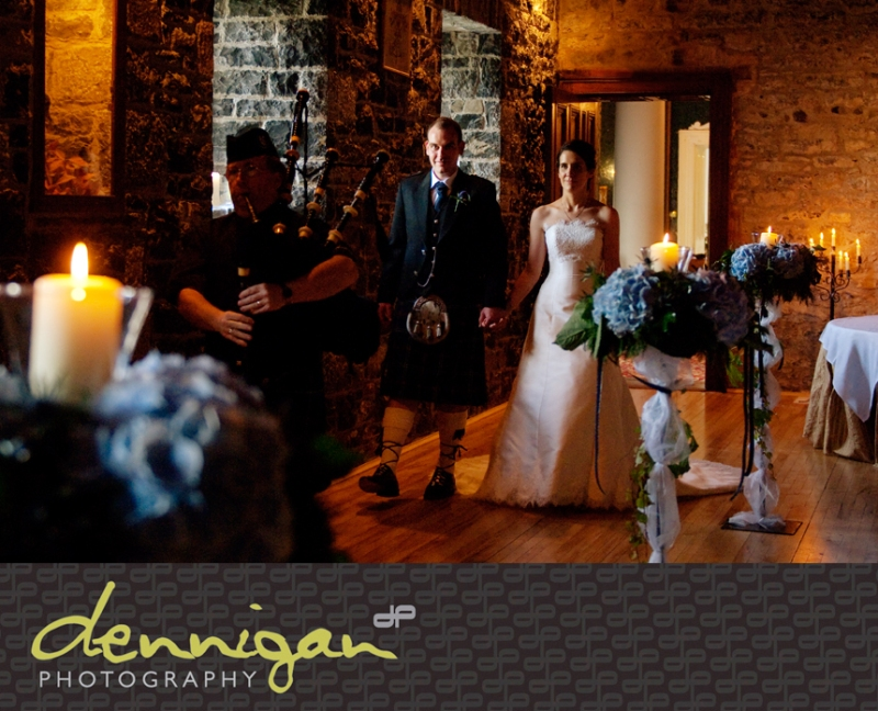 Wedding reception at Ballyseede Castle, Tralee